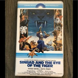 Sinbad and the Eye of the Tiger VHS